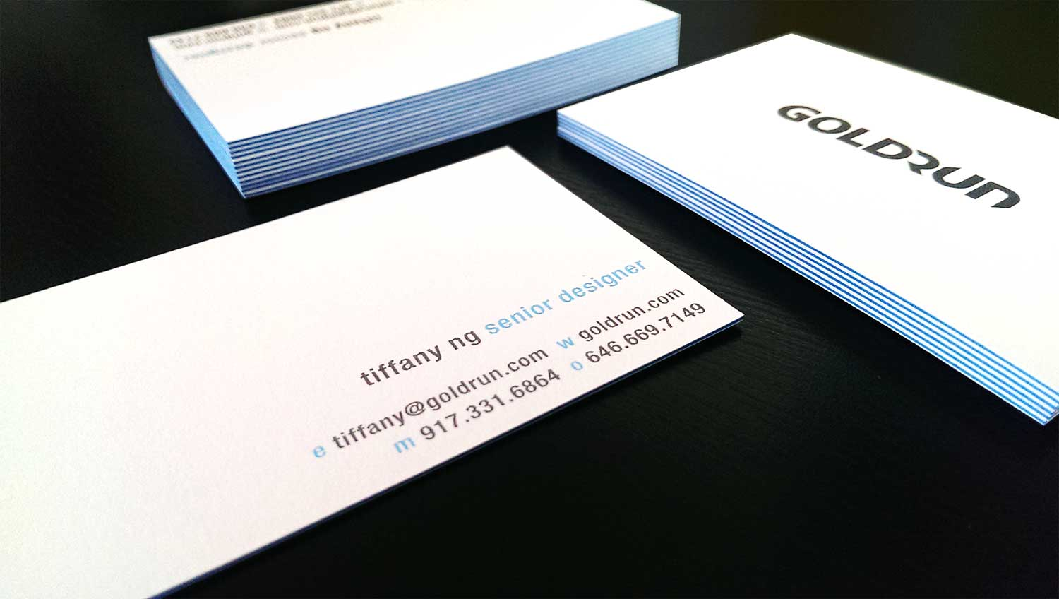 GoldRun Business Cards |